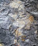 текстурированный камень предпосылки серый Стоковое Изображение