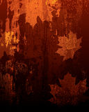 текстурированный коричневый цвет предпосылки Иллюстрация штока