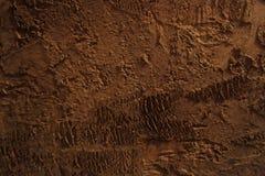 текстурированный коричневый цвет предпосылки Стоковое Изображение