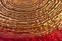текстурированный красный цвет предпосылки стеклянный золотистый Стоковая Фотография RF