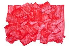 текстурированный красный цвет предпосылки Стоковые Фотографии RF