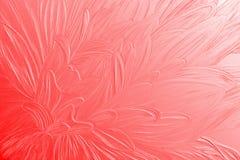 текстурированный красный цвет цветка крупного плана Стоковая Фотография RF