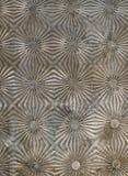 текстурированный металл предпосылки Стоковая Фотография