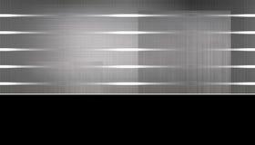 текстурированный серебр предпосылки Стоковая Фотография RF