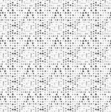 Текстурированный с случайно вращаемыми квадратами треугольников иллюстрация вектора