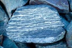 текстурированный утес предпосылки голубой Стоковые Изображения