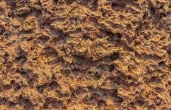 текстурированный утес Стоковая Фотография RF