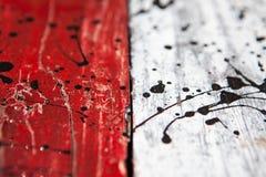 Текстурирует предпосылку ярко покрашенных панелей деревянных доск Стоковое Изображение RF