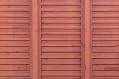 Текстурируйте поверхность металла автомобиля перевозки железнодорожного покрашенного с красным PA стоковое изображение