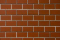 Текстурируйте стиль блока красной стены предпосылки стены блока красный Стоковые Фотографии RF
