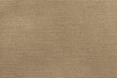 Текстурируйте ткань для предпосылки ткани бежевого цвета Стоковые Фото