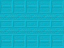 Текстурная голубая предпосылка Выбитая картина стоковое изображение rf
