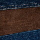 текстуры джинсыов corduroy Стоковое Изображение RF