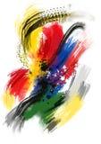 Текстуры краски масла - изображение запаса Стоковая Фотография RF