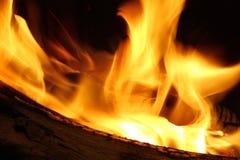 Текстуры огня Стоковая Фотография RF