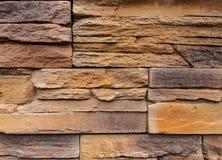 Текстуры песчаника Для внутреннего и внешнего украшения Предпосылка красочна yellow brougham серо стоковая фотография