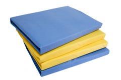 текстуры постельных принадлежностей Стоковое фото RF
