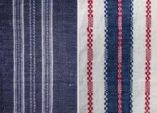 Текстуры предпосылки ткани ткани Стоковое Изображение RF
