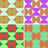 текстуры способа установленные ультрамодные Стоковые Фотографии RF