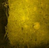 текстуры типа флористической рамки старые бумажные Стоковые Изображения RF
