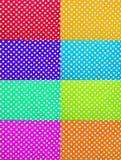 Текстуры точки польки Foamiran Стоковое Изображение