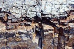 Текстуры утеса национального парка Saguaro Стоковые Фото