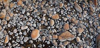 Текстуры утеса на istock реки горячем Стоковая Фотография RF
