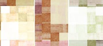 текстуры 3 предпосылки симпатичные Стоковое фото RF