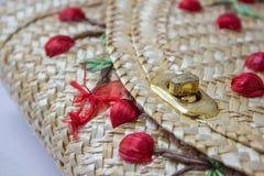 Текстуры basketry стоковое фото