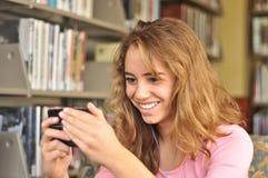 тексты студента женского друга милые Стоковая Фотография