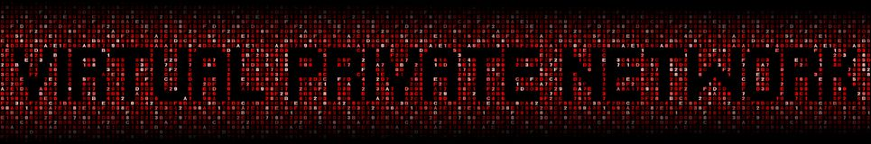 Текст виртуальной частной сети на иллюстрации кода наговора Стоковое Изображение RF