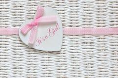 текст ливня карточки зайчика предпосылки младенца милый флористический Стоковая Фотография RF