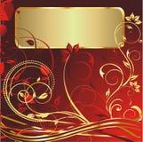 текст космоса орнамента золота Стоковое Изображение