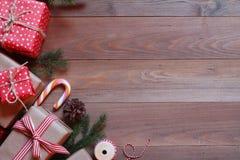 текст космоса подарков рождества предпосылки Стоковые Фотографии RF