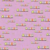 текст космоса экземпляра предпосылки младенца Стоковое фото RF