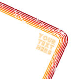 текст красного цвета grunge Стоковые Изображения RF
