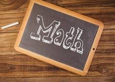Текст математики на классн классном Стоковое Изображение RF