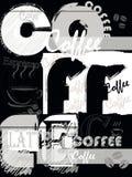 текст места переднего плана абстрактного кофе предпосылки пустой Стоковая Фотография
