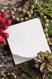 текст места рождества предпосылки ваш Стоковое фото RF