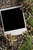 текст места рождества предпосылки ваш Стоковые Фотографии RF