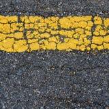 Текст на дороге Стоковая Фотография RF