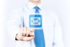 текст 3 отражения электронной почты черной принципиальной схемы предпосылки габаритный Стоковые Фотографии RF