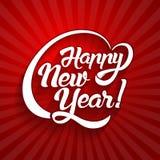 Текст поздравительной открытки Нового Года Стоковые Фото