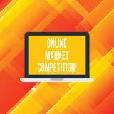 Текст почерка писать онлайн рыночную конкуренцию Концепция знача соперничество между компаниями продавая такой же продукт бесплатная иллюстрация
