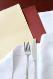 текст ресторана места меню Стоковое Изображение RF