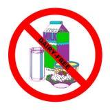текст символа молокозавода свободный Стоковая Фотография