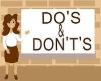 Текст сочинительства слова делает s и Дон t не s Концепция дела для запутанности в one разуме о что-то бесплатная иллюстрация