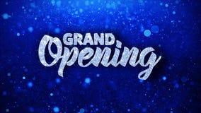 Текст торжественного открытия голубой желает приветствия частиц, приглашение, предпосылку торжества