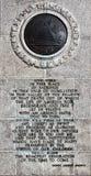 Текст торжественной речи Генри Armitt Брайна на кузнице долины Стоковые Фотографии RF