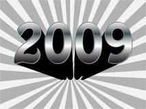 текст 2009 Стоковые Изображения